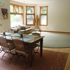 living room work space