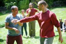 Primal Practice retreat May 2015, martial arts training