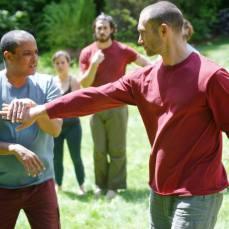 Primal Practice retreat May 2015, martial arts training