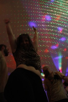 dancing in the livingroom!