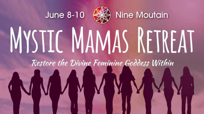 mystic mamas retreat event photo